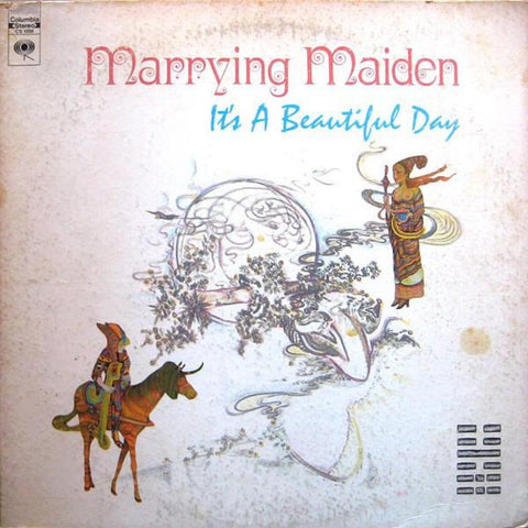 It's A Beautiful Day ‎– Marrying Maiden vinyl record front cover