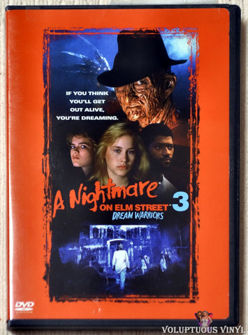 A Nightmare On Elm Street 3: Dream Warriors DVD front cover