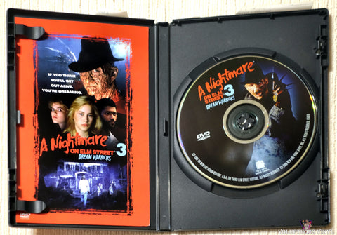 A Nightmare On Elm Street 3: Dream Warriors DVD