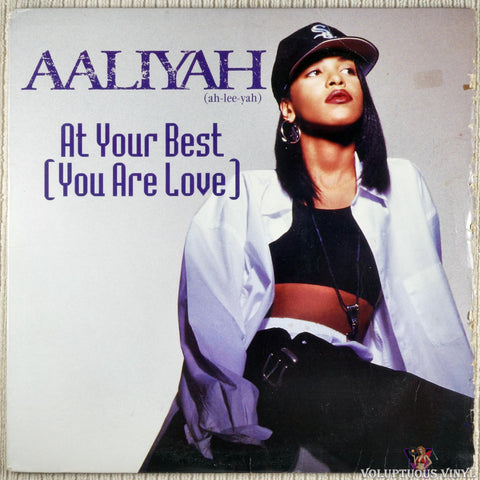 "Aaliyah ‎– At Your Best (You Are Love) (1994) 12"" Single"