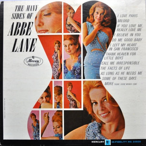Abbe Lane ‎– The Many Sides Of (1964) MONO