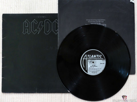 AC/DC ‎– Back In Black vinyl record