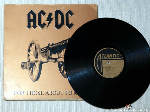 AC/DC ‎– For Those About To Rock (We Salute You) - Vinyl Record