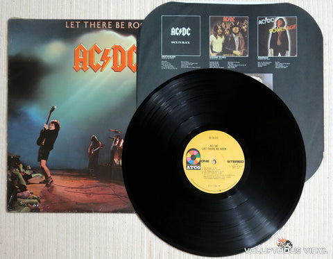 AC/DC ‎– Let There Be Rock - Vinyl Record