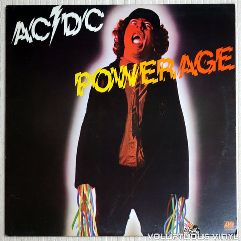 AC/DC ‎– Powerage - Vinyl Record - Front Cover