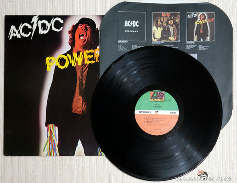 AC/DC ‎– Powerage - Vinyl Record