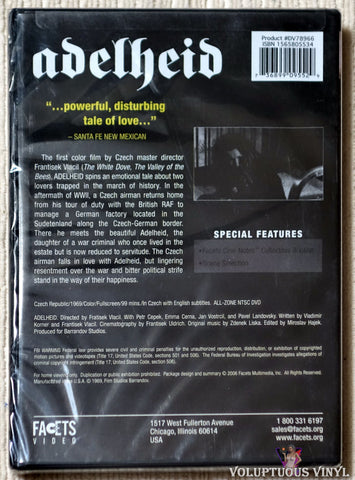 Adelheid DVD back cover
