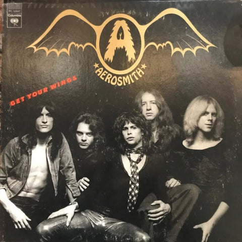 Aerosmith ‎– Get Your Wings (1976)