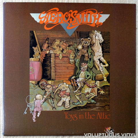 Aerosmith ‎– Toys In The Attic - Vinyl Record - Front Cover