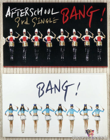 After School ‎– Bang! (3rd Single) CD front cover