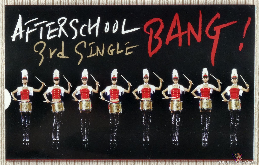 After School ‎– Bang! (3rd Single) CD front sleeve