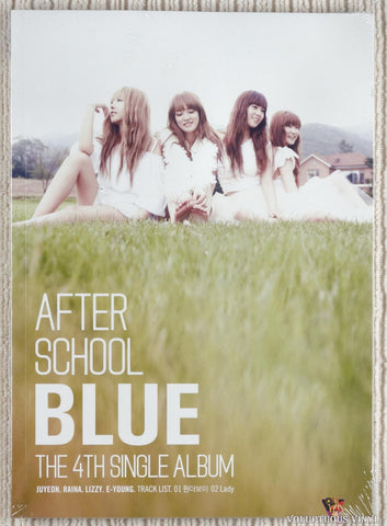 After School ‎– Blue (The 4th Single Album) (2011) Korean Press, SEALED