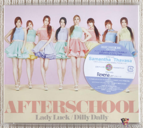After School ‎– Lady Luck / Dilly Dally (2012) Music Video Version, Japanese Press, SEALED