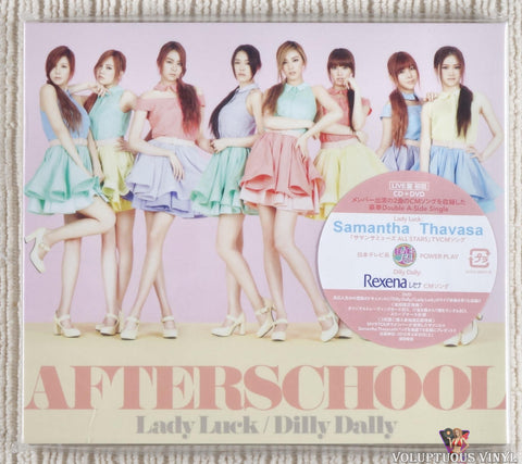 After School ‎– Lady Luck / Dilly Dally (2012) Live Version, Japanese Press, SEALED