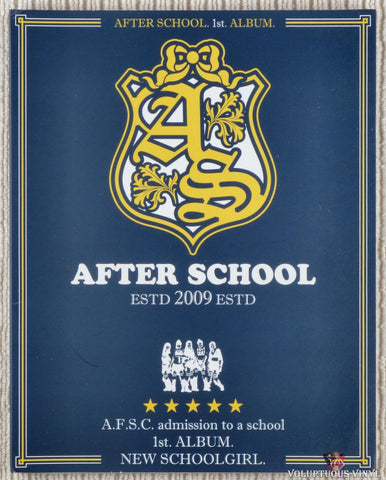 After School ‎– 1st Album: New Schoolgirl (2009) Korean Press