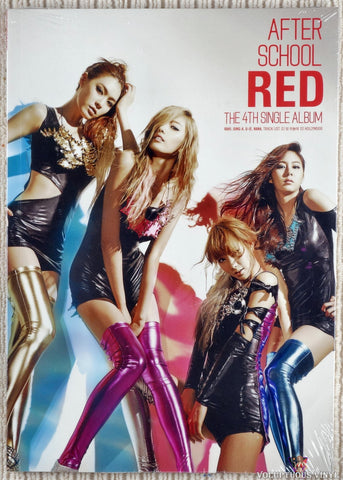 After School ‎– Red (The 4th Single Album) (2011) Korean Press, SEALED