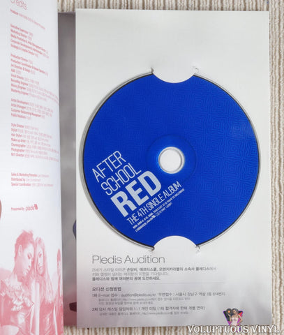 After School ‎– Red (The 4th Single Album) CD