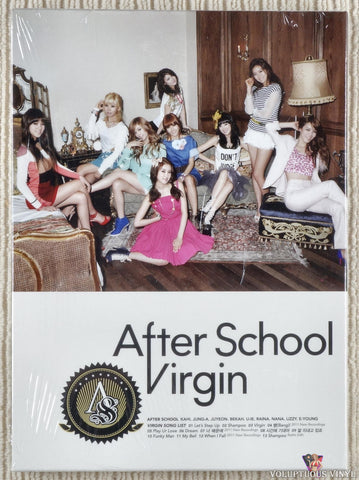 After School ‎– Virgin (2011) Autographed, Korean Press