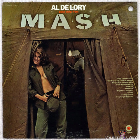 Al De Lory ‎– Plays Song From M*A*S*H vinyl record front cover