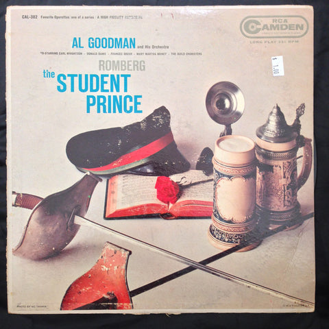 Al Goodman And His Orchestra ‎– The Student Prince (?) Cheap Vinyl Record