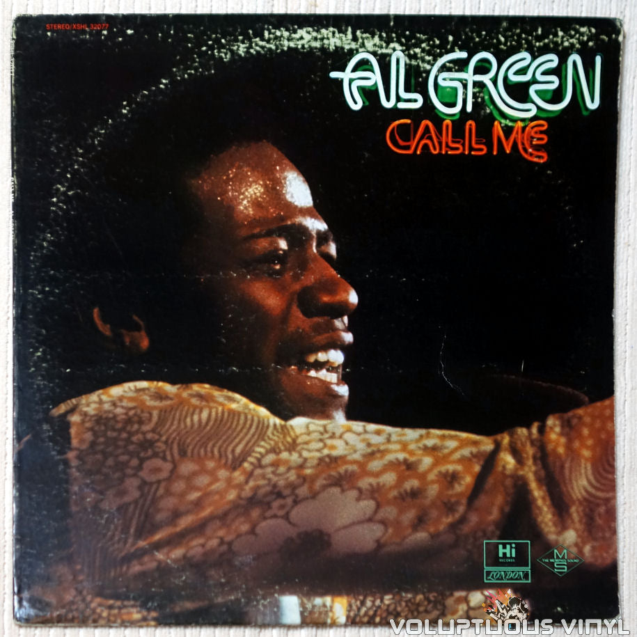 Al Green ‎– Call Me vinyl record front cover