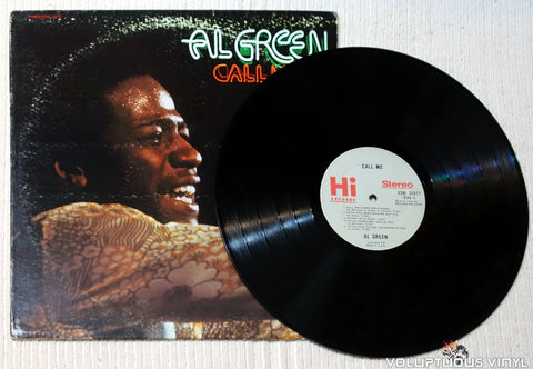 Al Green ‎– Call Me vinyl record