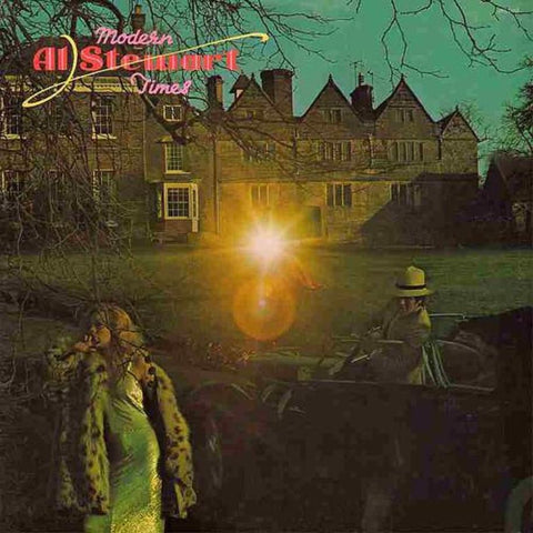 Al Stewart ‎– Modern Times vinyl record front cover