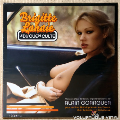 Alain Goraguer ‎– Brigitte Lahaie, Le Disque De Culte (2016) Red Vinyl, French Press SEALED