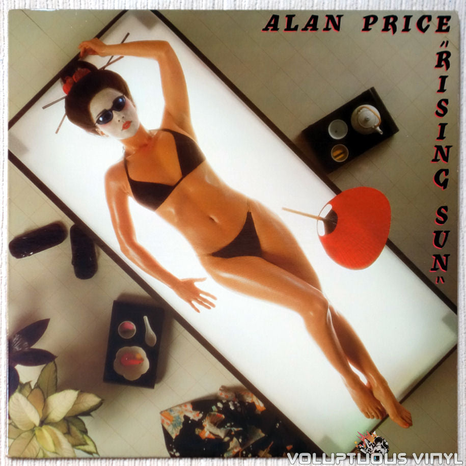 Alan Price ‎– Rising Sun vinyl record front cover