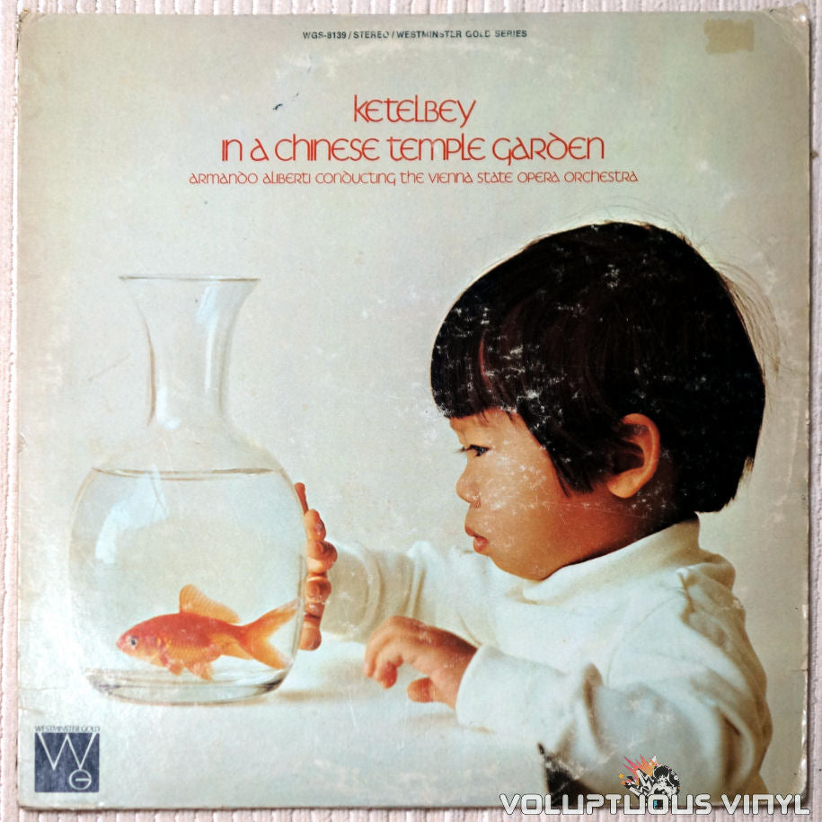 Ketelbey ‎– In A Chinese Temple Garden - Vinyl Record - Front Cover