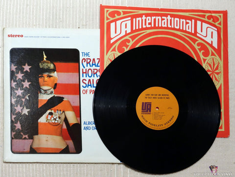Albert Van Dam And Orchestra ‎– The Crazy Horse Saloon Of Paris vinyl record