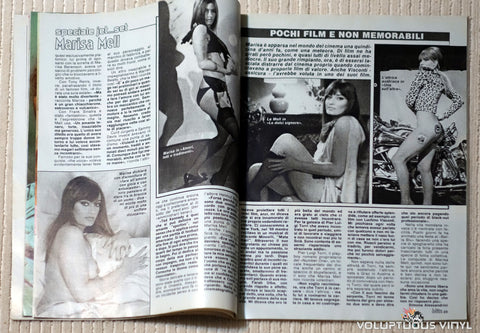 Albo Blitz - Issue 27 July 5, 1983 - Marisa Mell
