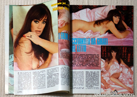 Albo Blitz - Issue 27 July 5, 1983 - Marisa Mell Topless