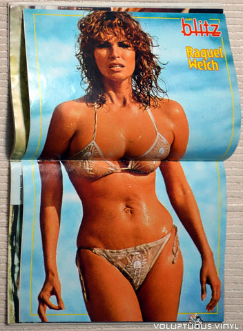 Albo Blitz - Issue 27 July 5, 1983 - Raquel Welch Bikini Poster
