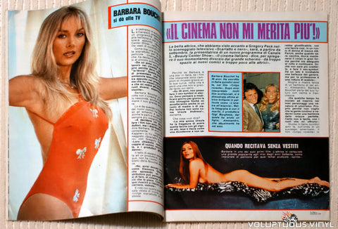 Albo Blitz - Issue 25 June 21, 1983 - Barbara Bouchet