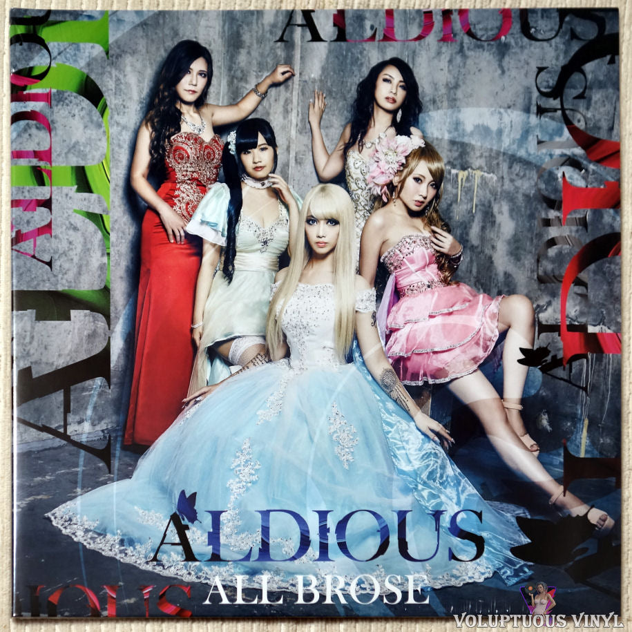 Aldious ‎– All Brose vinyl record front cover