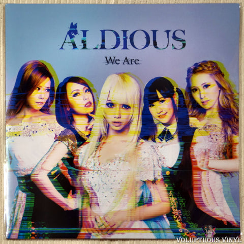 "Aldious ‎– We Are (2017) Cover Variant #1, 12"" Mini Album, Japanese Press SEALED"