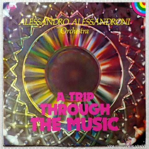 Alessandro Alessandroni Orchestra ‎– A Trip Through The Music vinyl record front cover