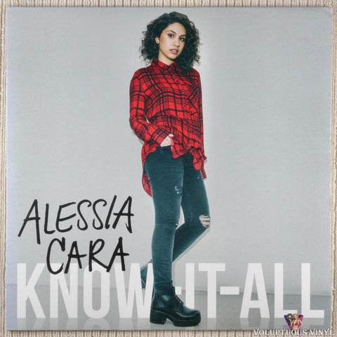 Alessia Cara ‎– Know It All (2016) Pink Vinyl