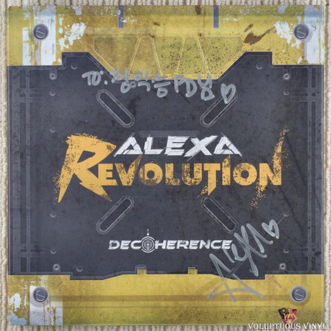 AleXa ‎– Decoherence (2020) Autographed, Korean Press