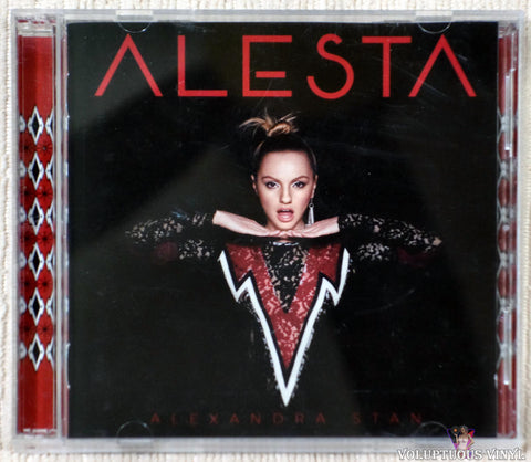 Alexandra Stan ‎– Alesta (2016) CD, DVD, Deluxe Edition, Japanese Press