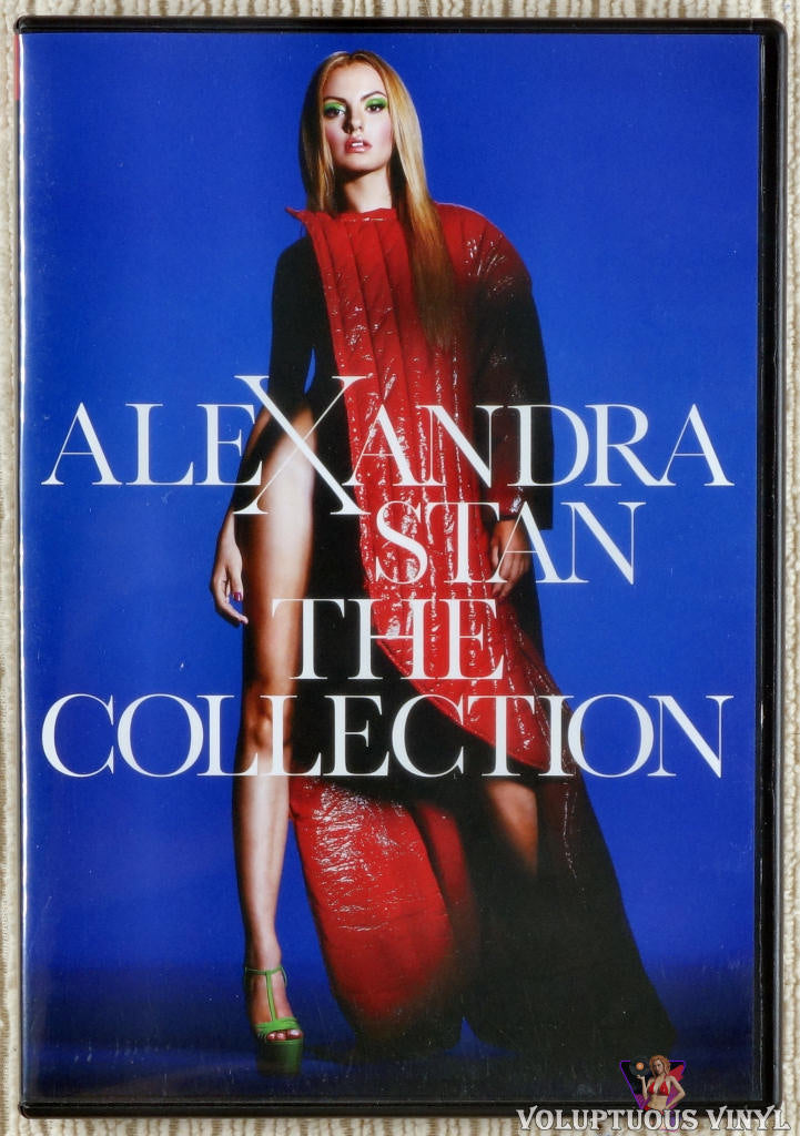 Alexandra Stan ‎– The Collection DVD front cover