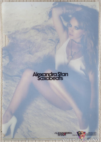 Alexandra Stan ‎– The Collection DVD promo sleeve