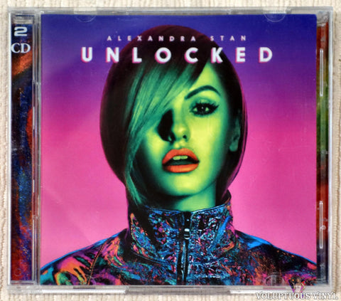 Alexandra Stan ‎– Unlocked CD front cover