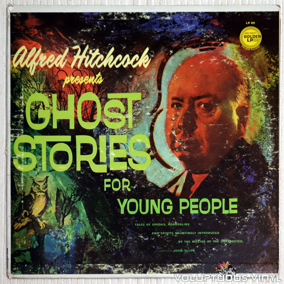Alfred Hitchcock ‎– Alfred Hitchcock Presents Ghost Stories For Young People - Vinyl Record - Front Cover