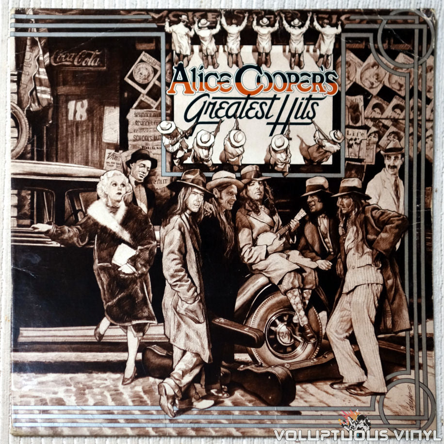 Alice Cooper ‎– Alice Cooper's Greatest Hits vinyl record front cover