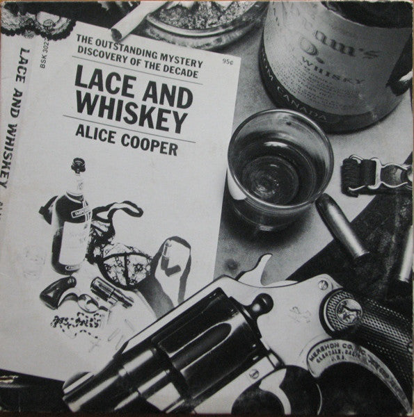 Alice Cooper ‎– Lace And Whiskey - Vinyl Record