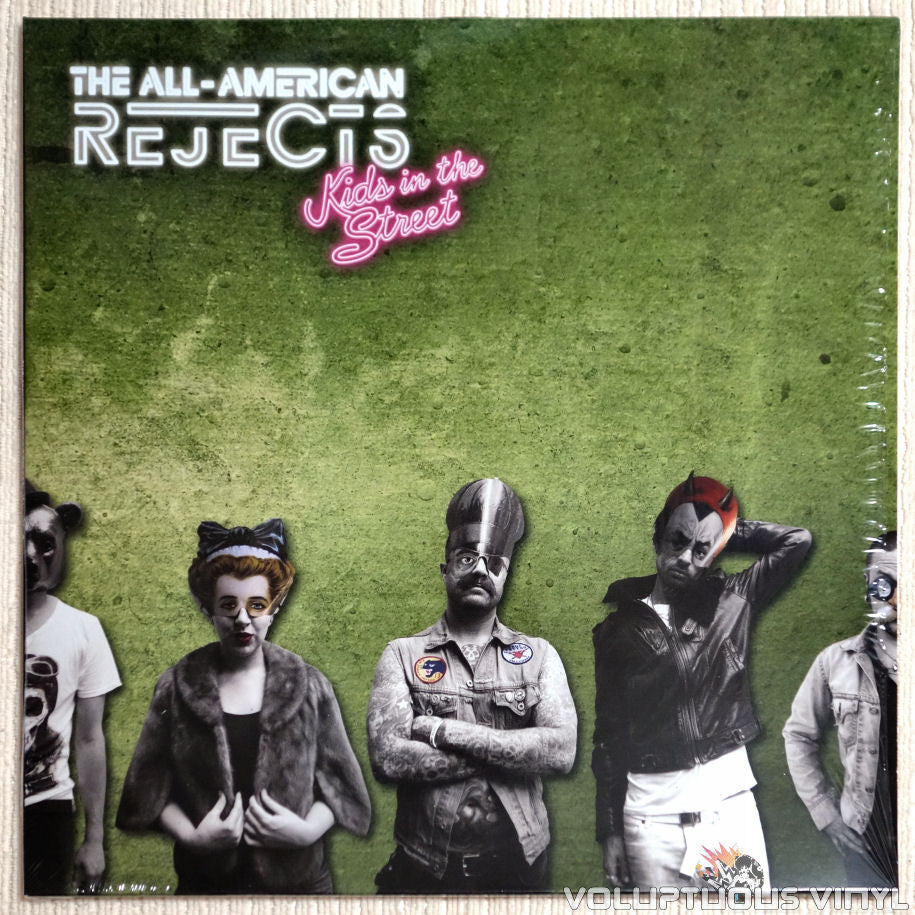The All-American Rejects ‎– Kids In The Street - Vinyl Record - Front Cover