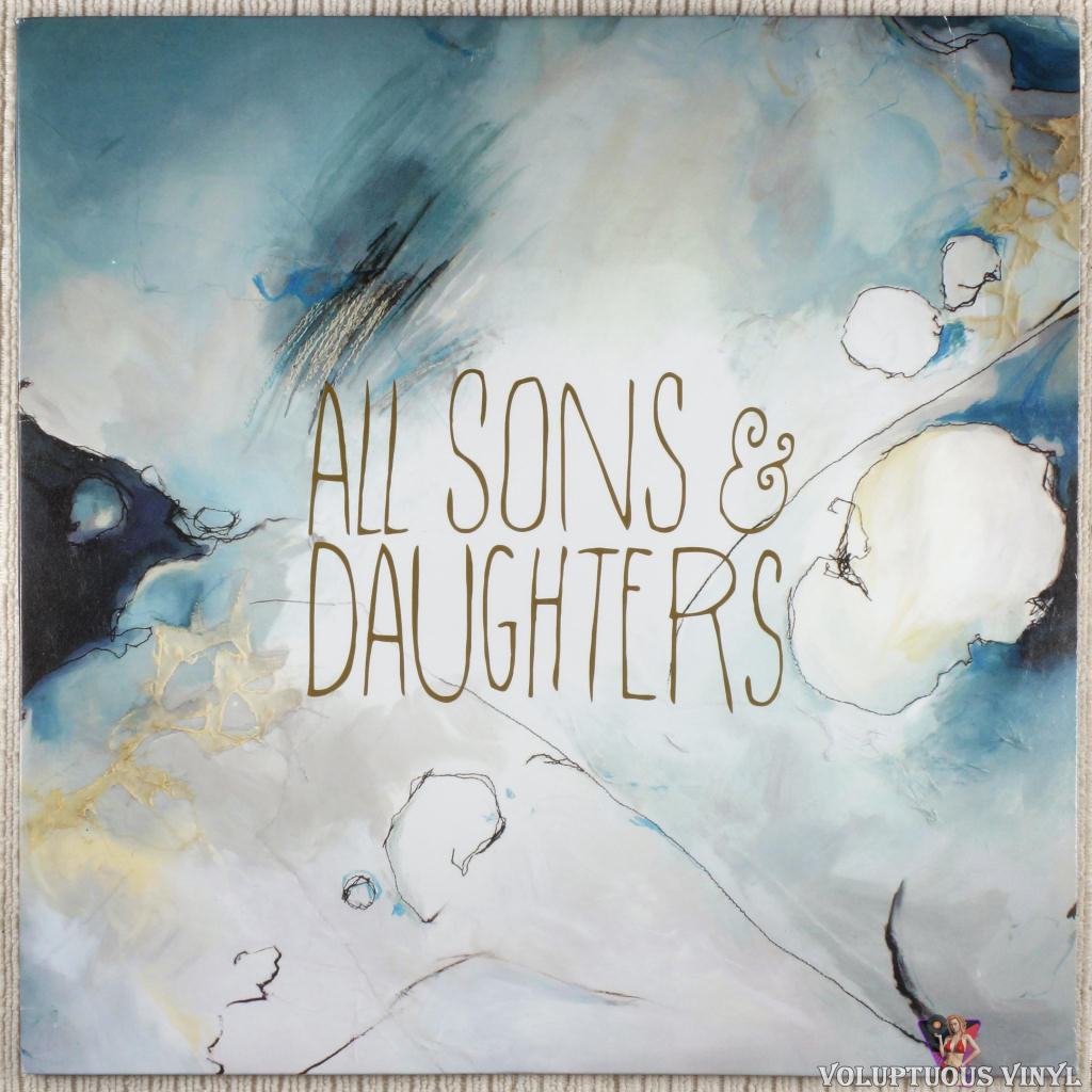All Sons & Daughters ‎– All Sons & Daughters vinyl record front cover