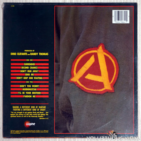 Allies ‎– Allies - Vinyl Record - Back Cover